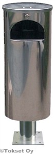 Roska-astia 30 litraa laippajalka rst